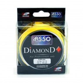 Nylon DIAMONDasca28cv_asso_diamonds---150-m_28-100_033092_fil-nylon-tresse_3504870033092_flashmer_ CARRE JAUNE