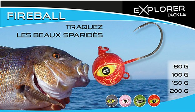 FIREBALL - EXPLORER TACKLE