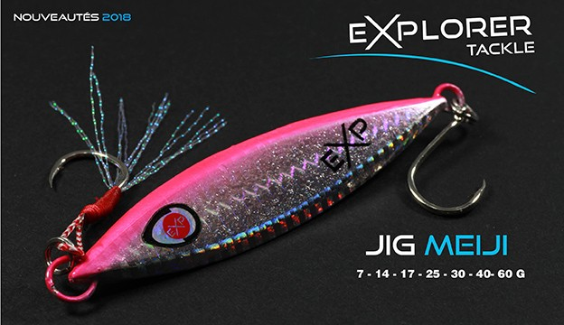 JIG MEIJI EXPLORER TACKLE
